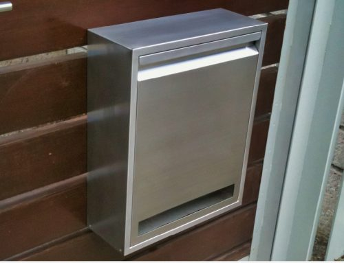 Customised Stainless Steel Stand Alone Mail Box