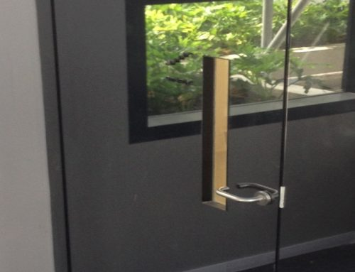 Mirror Cladded – Conceal Hinge Door